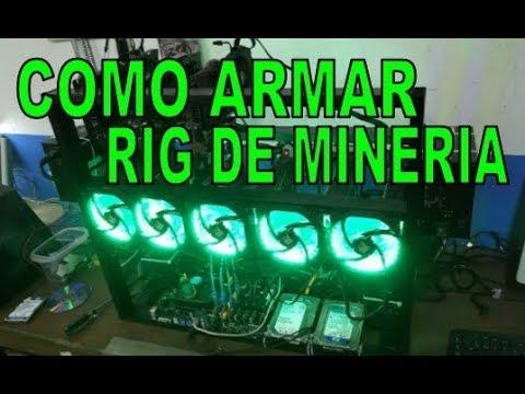 Como Conectar Rig De Mineria Youtube
