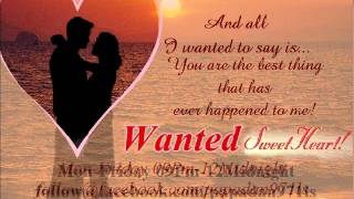 Wanted Sweetheart June 08 2015