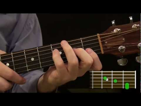 Part 92 Beginner Guitar Course Learn How To Play An F Chord On