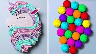 10 Amazing Unicorn Themed Dessert Recipes | DIY Homemade Giant Unicorn Buttercream Cupcakes