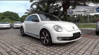 2012 volkswagen beetle 2 0 tsi start up and full vehicle tour