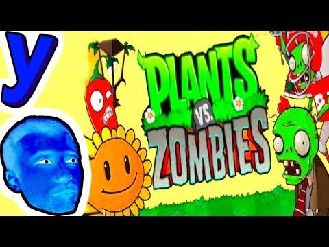 Игра - Растения Против Зомби - смотреть прохождение от Flavios #44