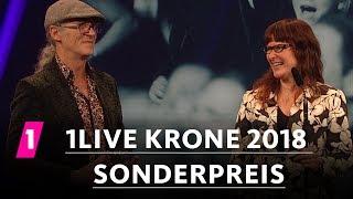 Birgit und Horst Lohmeyer gewinnen den Sonderpreis | 1LIVE Krone 2018