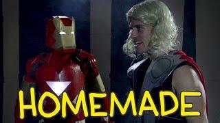 Iron Man, Thor & Captain America Fight from The Avengers - Homemade Shot for Shot