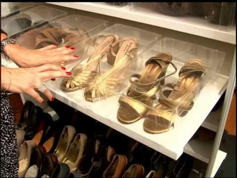 Dicas de como organizar os sapatos!