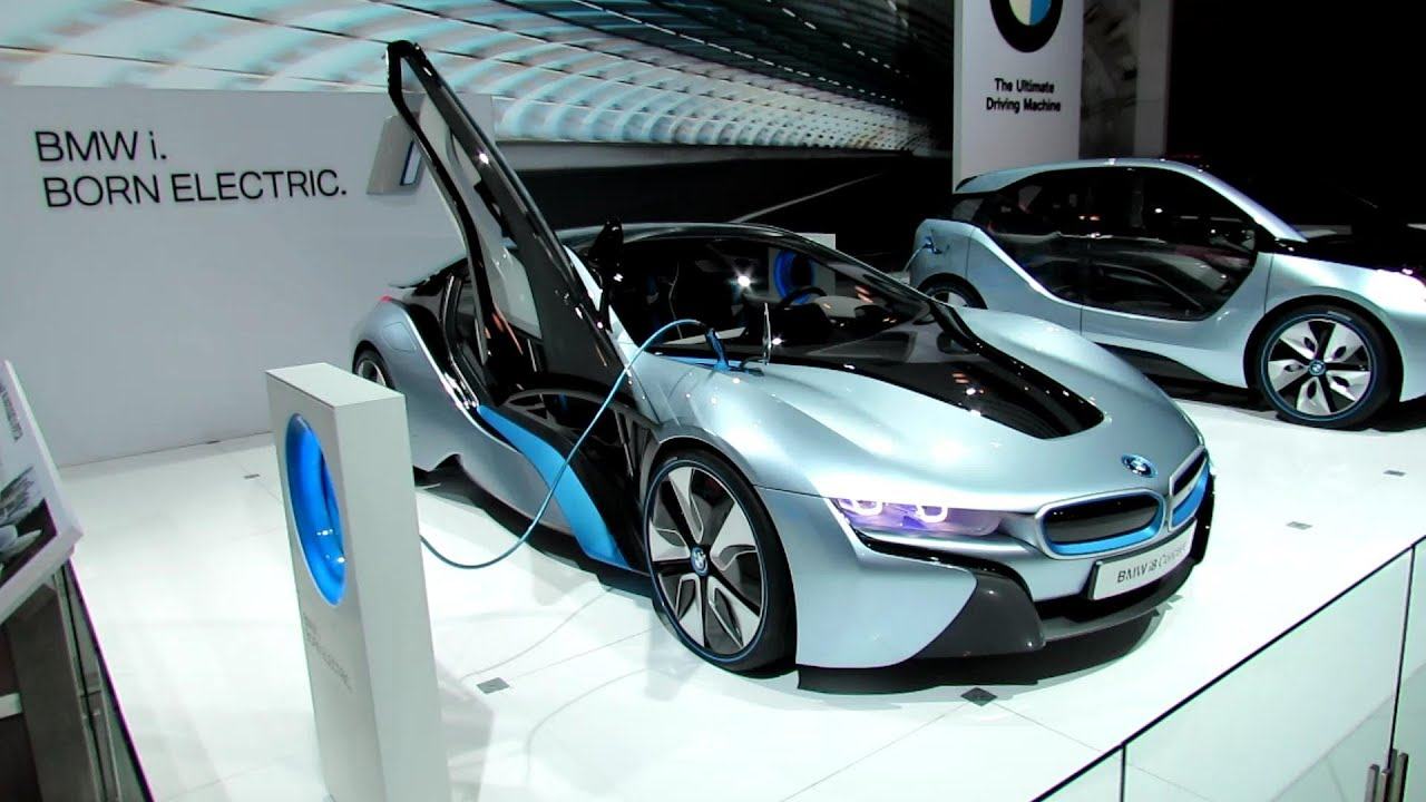 Bmw I8 Concept Interior And Exterior At 2012 New York International