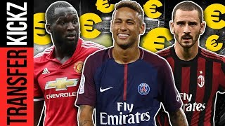 Alle internationalen Top-Transfers 2017/18! | TransferKickz Special