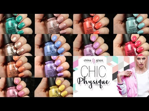 China Glaze Chic Physique   Live Application Review + Dupes!