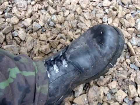 e906ee17003 Armádní boty vz.2000 - Prabos - YouTube