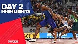 Highlights World Athletics Championships Doha 2019 Day 2