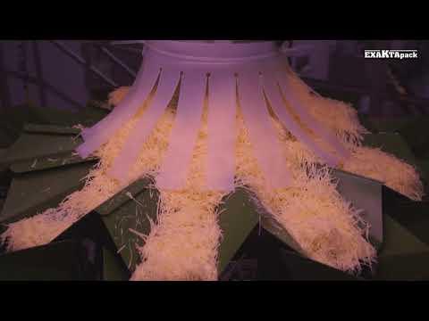 Linea para envasar queso emmental en bolsas de 460 gr