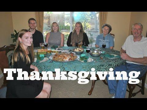 Thanksgiving Vlog 2016 // AUSLANDSJAHR 2016/17 USA #23