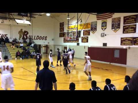 AJ Kittles Highlights Vs. Leap Academy