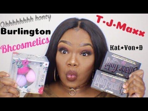 Amazing TJMAXX and Burlington High\Low end makeup finds.