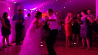 Amberly and Adam wedding dance