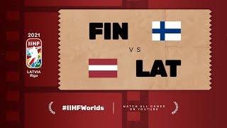 Highlights: FINLAND vs LATVIA | 2021 #IIHFWorlds