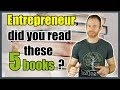 5 Books you must read if you are an entrepreneur