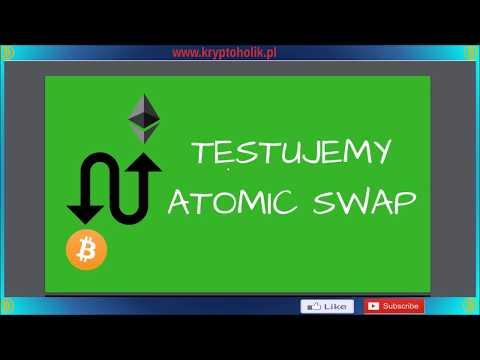 Testujemy ATOMIC SWAP # wymiana Bitcoin na Ethereum bez pośrednika