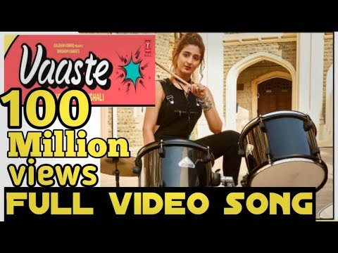 vaaste-full-video-song|-vaaste-song-with-lyrics|vaaste-song-dwani-bhanushali|vaaste-dance