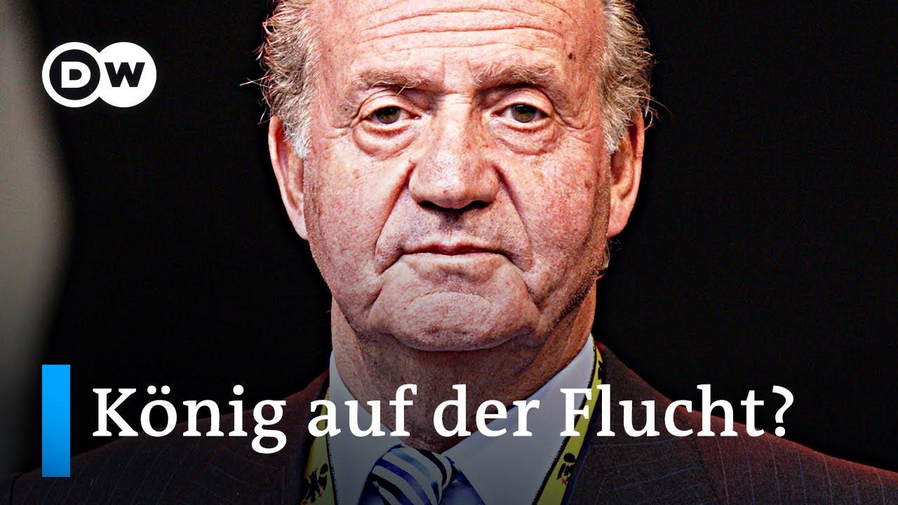 Spaniens Ex-König Juan Carlos: Flucht in die Karibik? | DW Nachrichten