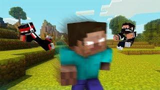 Minecraft- ХЕРОБРИН! Он убил нас! А потом я его о_0