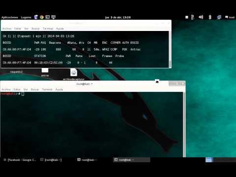 Como hackear contraseña wpa2 con aircrack-ng sin diccionario