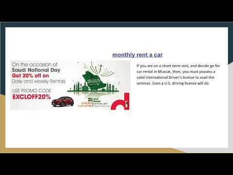 Rent A Car In Oman