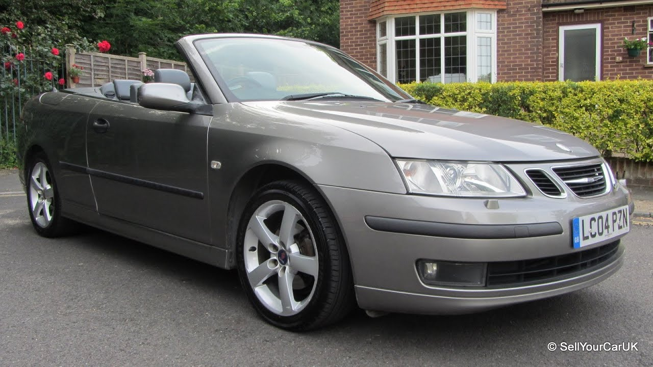 Sold 04 Saab 9 3 2 0t Vector 150bhp Convertible Auto Owner Full History Mot Tax