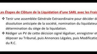 dissolution liquidation amiable mp3