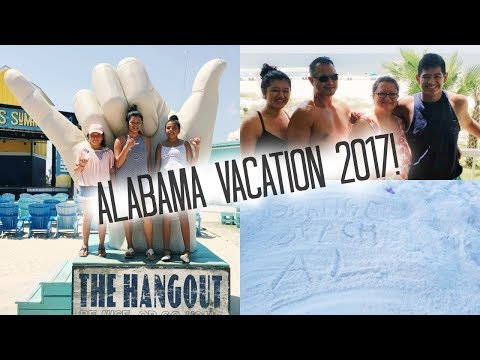 Alabama Vacation 2017