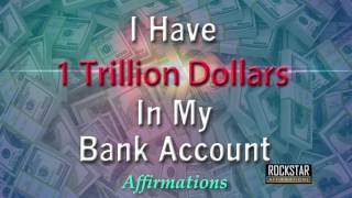 Baixar I Have 1 Trillion Dollars in My Bank Account - $$$ - Super-Charged Affirmations