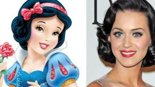 Disney Princesses Celebrity Look Alike
