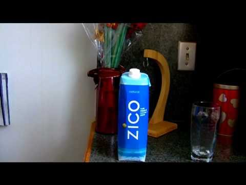 ZICO Coconut Water Review And Taste Test