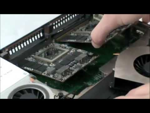 AMD Radeon HD 7970M CrossFireX Installation in EUROCOM Panther 2.0