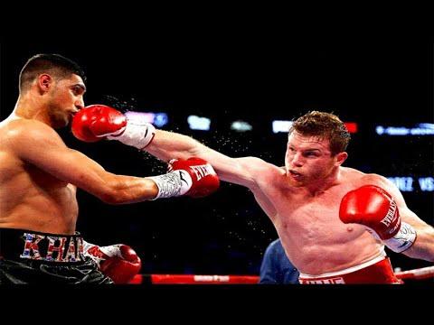 Canelo Alvarez vs Amir Khan - Highlights (KNOCKOUT of the Year 2016)