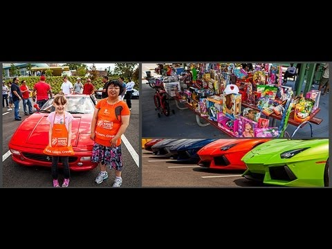 Driving Force Club St Mary S Childrens Hospital Toy Drive