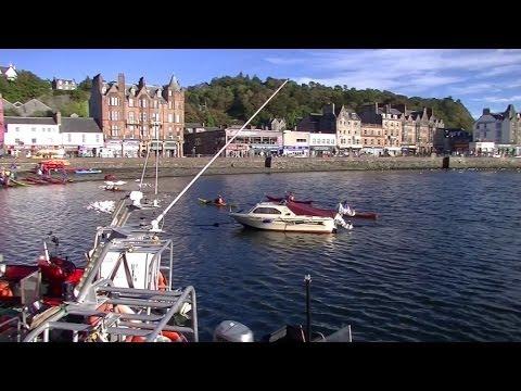 Vibrant Oban - Argyll - Scotland
