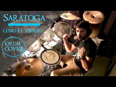 COMO EL VIENTO - Saratoga (Drum Cover By BalDrum) HD 2016
