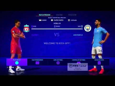 FIFA 21 BETA | Liverpool VS Manchester City | Gameplay