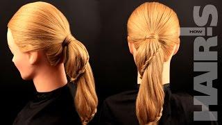 Заплетаем спиральную косу «Змейка»- видеоурок (мастер-класс) Hair's How.