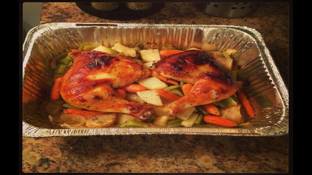 Extrêmement RECETTE - mon poulet roti a la moutarde - YouTube KL41