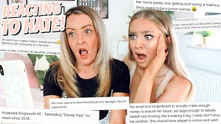 REACTING TO HATE COMMENTS WITH MY MUM!! Video