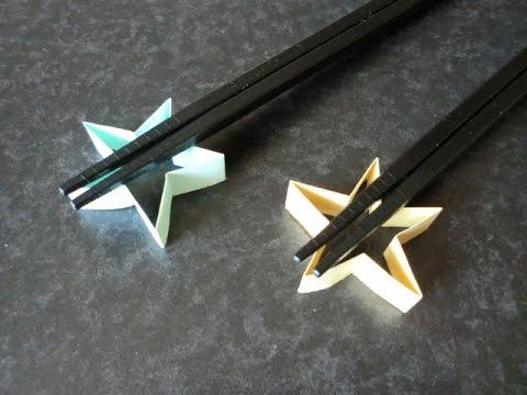 花 折り紙:折り紙 箸置き 作り方-youtube.com