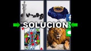 4 Fotos 1 Palabra Ajedrez Leon Carta Corona Rey - Enigma Diario Perú 30/09/2017 - 7 Letras