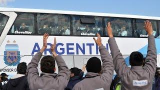 14 de JUL. (Transmisión Completa) Regreso de la selección Argentina de Fútbol. Mundial 2014
