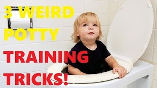 3 Weird Tricks That Makes Potty Training Easy