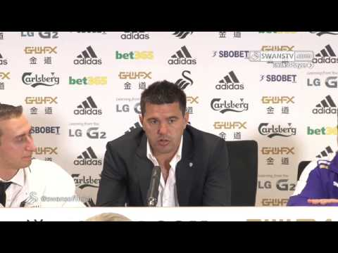 Swansea City Video: Cosmin Contra post match press conference