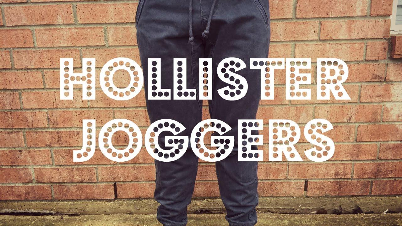 hollister cargo joggers