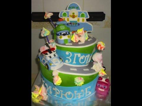 Торт тачки молния Мак Квин. На крестины или детский торт на годик ... | 360x480