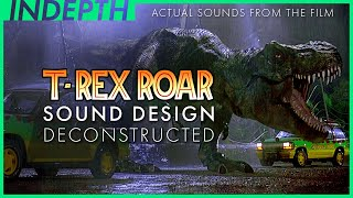 Jurassic Park T-Rex sound design explained by Gary Rydstrom